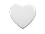 "CERAMIC TILES 4"" HEART SHAPE"